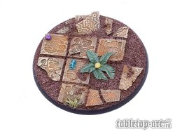 Lizard City bases for miniatures - 80mm 1