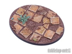 Lizard City bases for miniatures - 120mm 1