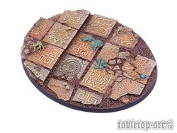 Lizard City bases for miniatures - 120mm 2