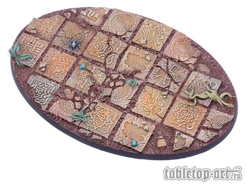 Lizard City bases for miniatures - 170mm 1