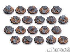Shaleground Bases - 32mm DEAL (20)