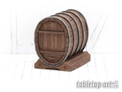 Wine Barrel - Set 1