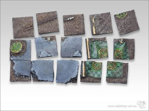 Battleground Bases - 25x25mm Diorama 1 (15)