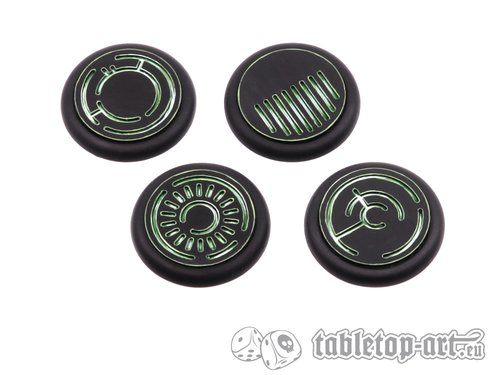 Crystal Tech Bases BLANK - 40mm RL (2)