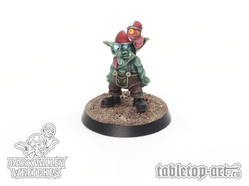 Darkvalley Wretches - Two-Headed Goblin B