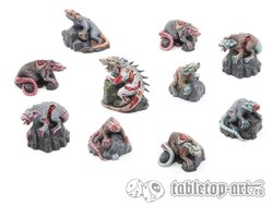 Zombie Rats Pack (10)
