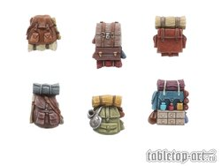 Adventurer backpacks - Set 1 (6)
