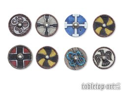 Viking Shields - Set 4 (8)