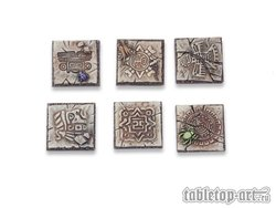 Lizard City 50x50mm bases for miniatures