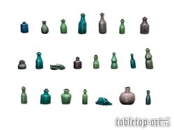 Bottles And Small Bottles - Set 1 (22)