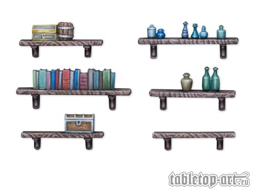 Shelf And Rack Set (6)