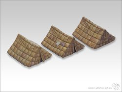Legionaire tents set (3)