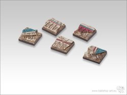 Temple of Isis Bases - 20x20mm Infantry