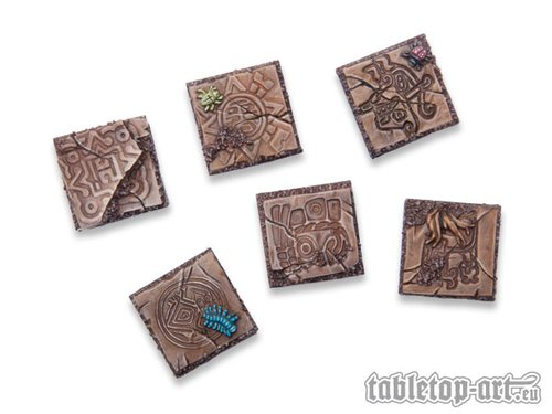 Lizard City Bases 20x20mm