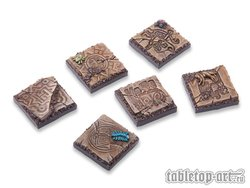 Lizard City Bases - 20x20mm (5)