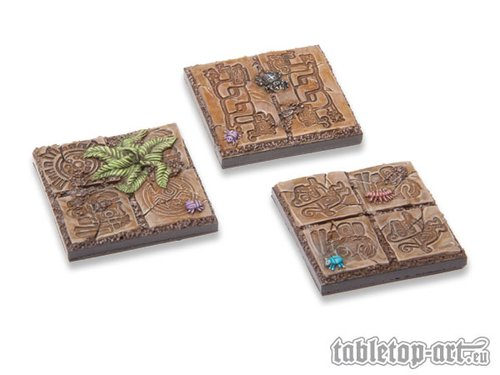 Lizard City 40x40mm Bases
