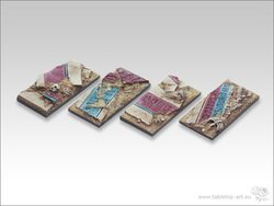 Temple of Isis Bases - 25x50mm Cavalry
