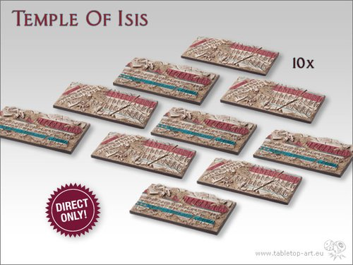Temple of Isis Bases - Chariot DEAL (10)