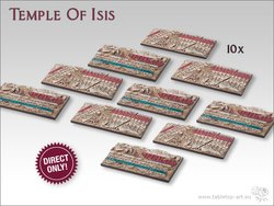Temple of Isis Bases - Chariot DEAL