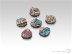 Temple of Isis Bases - 25mm