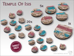 Temple of Isis Bases - Rundbase DEAL
