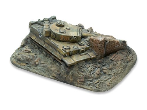 Tiger destroyed - 15mm