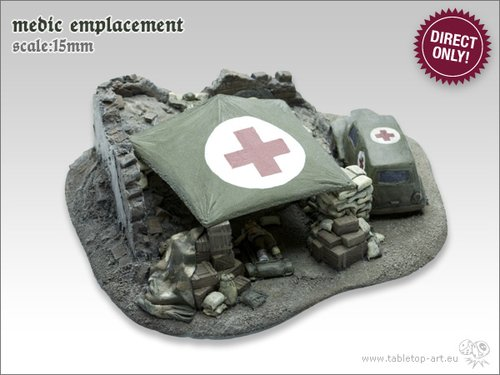 Medic emplacement | 15mm