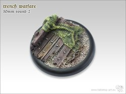 Trench Warfare Bases - 50mm Round Lip 2