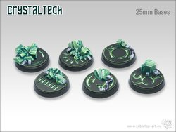 Crystal Tech Bases - 25mm (5)