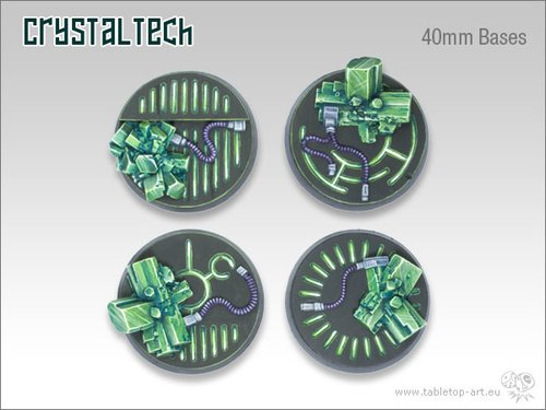 Crystal Tech Bases - 40mm (2)