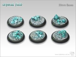 Crystal Field Bases - 30mm Round Lip (5)