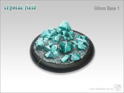 Crystal Field Bases - 50mm Round Lip 1