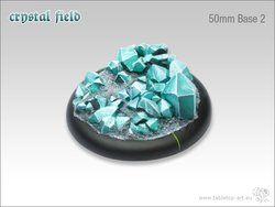 Crystal Field Bases - 50mm Round Lip 2
