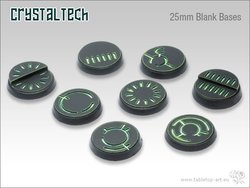 Crystal Tech Bases - 25mm BLANK (5)