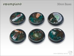 Swampland Bases - 30mm Round Lip (5)