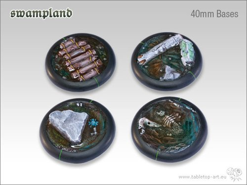 Swampland Bases - 40mm Round Lip (2)