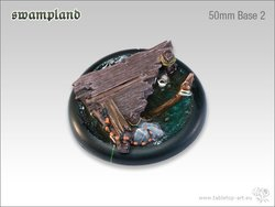 Swampland Bases - 50mm Round Lip 2