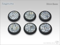 Flagstone Bases - 30mm RL (5)