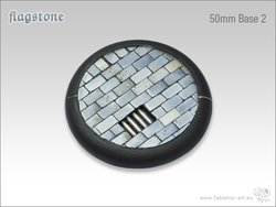 Flagstone Bases - 50mm Round Lip 2