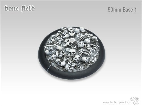 Bonefield Bases - 50mm Round Lip 1