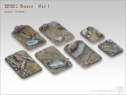WW2 Bases - Set1 | 15mm