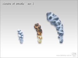 Clouds of smoke - Set 2