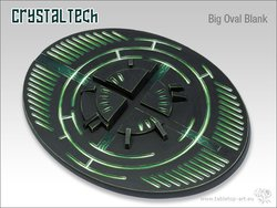 Crystal Tech Bases - 120mm Oval blank 1
