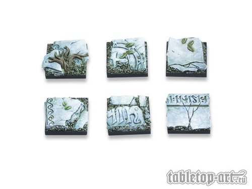 Ancestral Ruins Bases - 20x20mm (5)