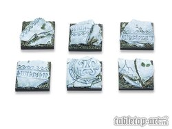 Ancestral Ruins Bases - 25x25mm (5)