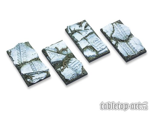 Ancestral Ruins Bases - 25x50mm (4)
