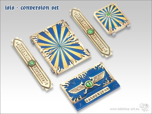 *Tabletop Art* Isis Banderols Set