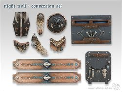 Night Wolf - Umbau-Set