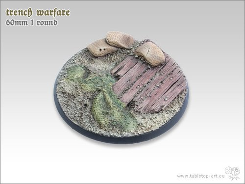 Trench warfare Bases - 60mm 1