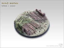 Trench Warfare Bases - 60mm 2